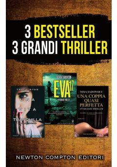 3 bestseller 3 grandi thriller (cofanetto)