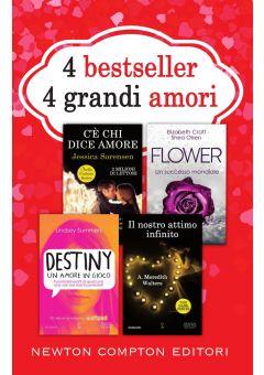 4 bestseller 4 grandi amori (cofanetto)