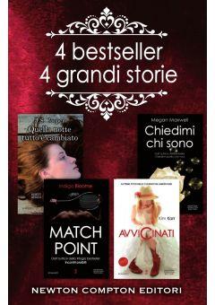 4 bestseller, 4 grandi storie - cofanetto