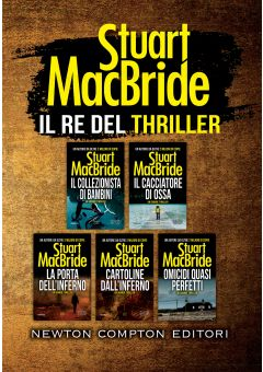 Il re del thriller cofanetto 5 volumi