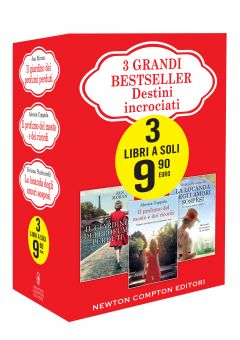 3 grandi bestseller - Destini incrociati