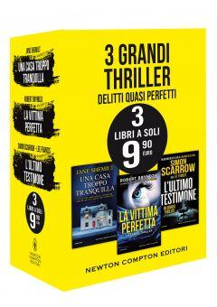 3 grandi thriller - Delitti quasi perfetti