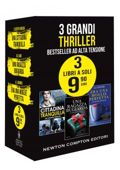 3 grandi thriller. Bestseller ad alta tensione