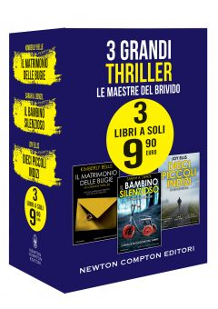 3 grandi thriller  - Le maestre del brivido