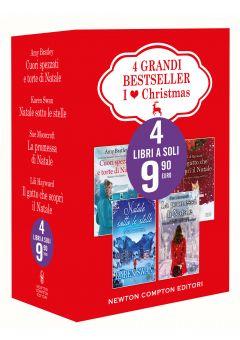 4 grandi bestseller - I love Christmas