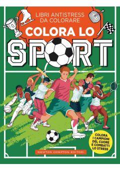 Libri antistress da colorare. Colora lo sport