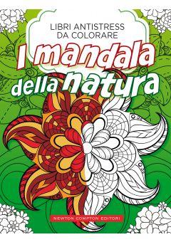 Libri antistress da colorare. I mandala della natura
